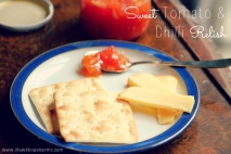 Sweet Tomato & Chilli Relish