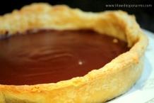 Chocolate & Bailey's Tart