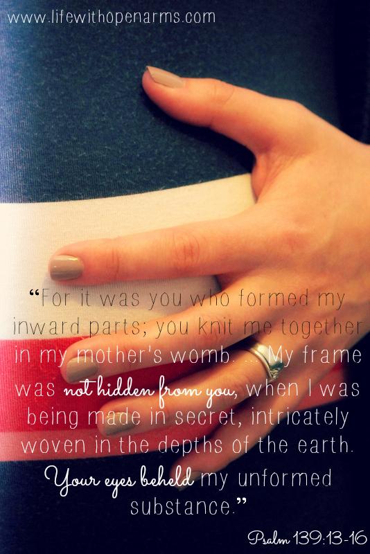 Psalm 139:13-16