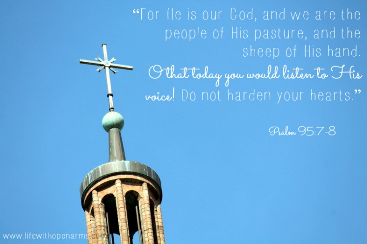 Psalm 95:7-8