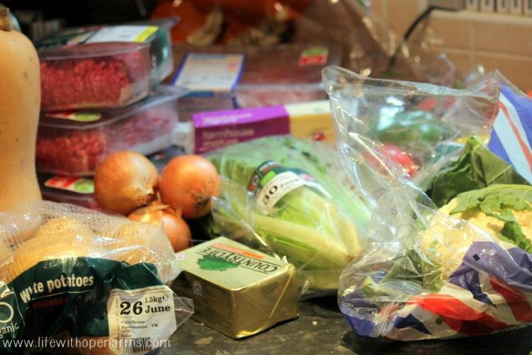 Freezer Cooking - ingredients