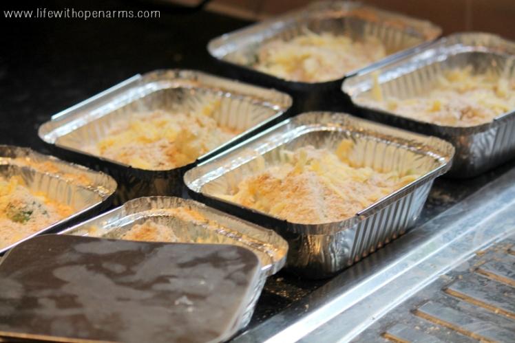 Freezer Cooking - Veg Crumble