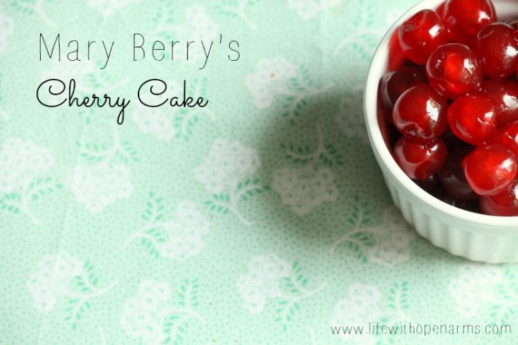 Mary Verry's Cherry Cake