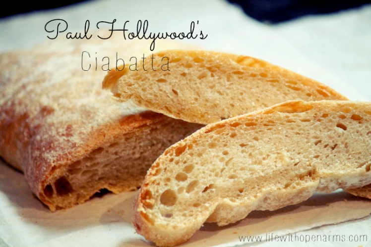 Paul Hollywood's Ciabatta