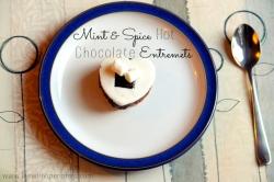 Mint & Spice Hot Choc Entremets - button