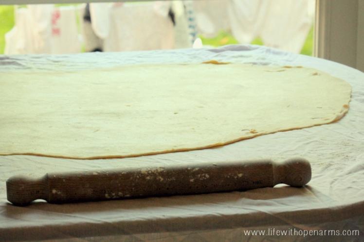 Povitica - dough