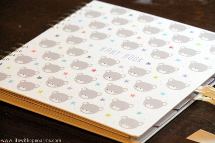 January - Baby Book